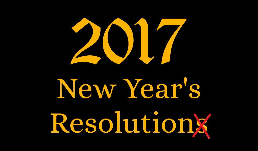 new years resolution 2017