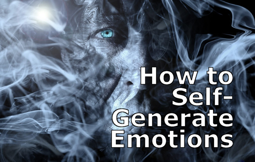 self-generate emotions
