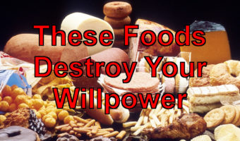 How an Unhealthy Diet Destroys Your Willpower