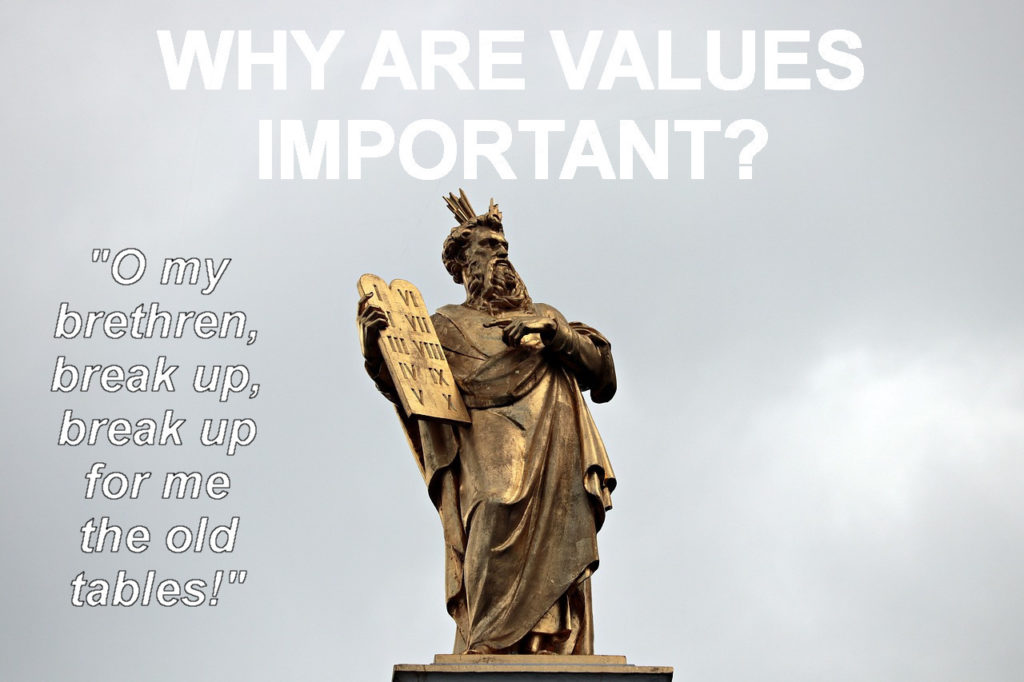importance of values in life