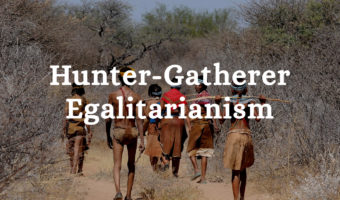 hunter gatherer equality