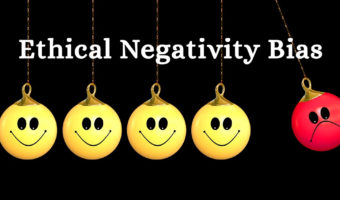 Negativity Bias in Ethics